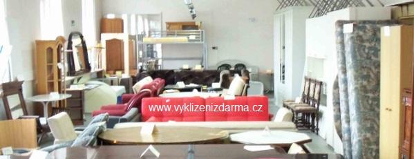 vyklízení bytů, bazar nábytku